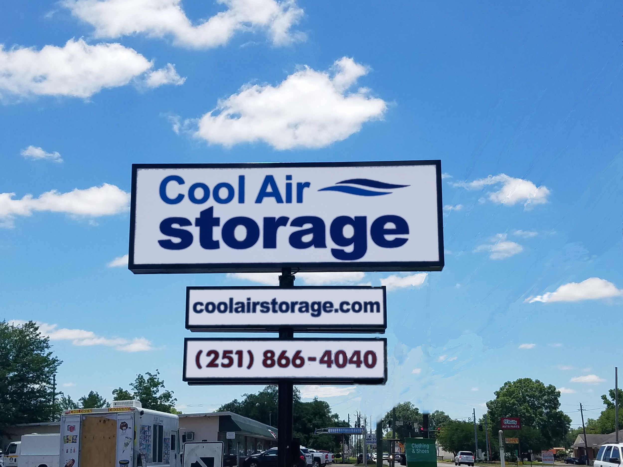 Cool Air Mini Storage Sign